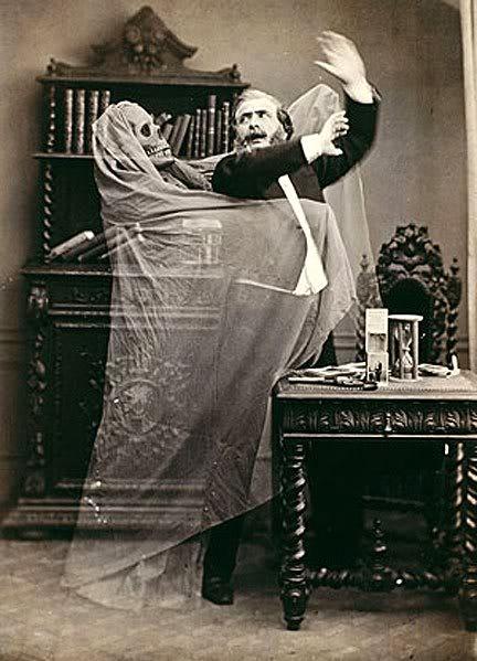 Robin og draugurinn, 1863