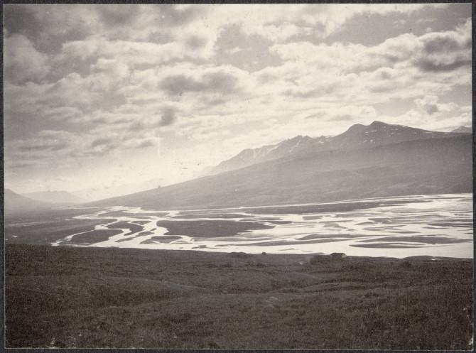 Eyjafjarðará, um 1900