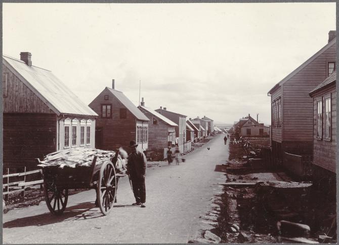 Reykjavík með augum Howells, um 1900