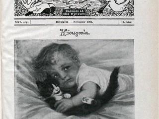 """Æskan árið 1924: """"Kisa margan kætir, kisa mýsnar grætir"""""""