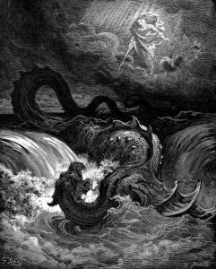 Biblíska sæskrímslið Levíatan