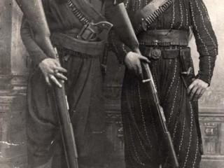 Armenskir skæruliðar um 1895