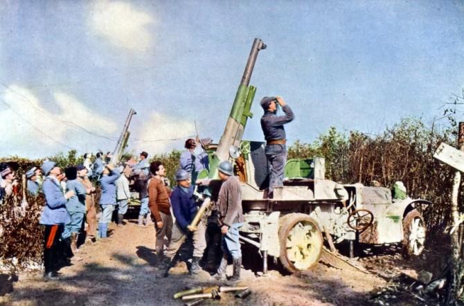 Verdun: Litmyndir af skelfilegasta vígvelli fyrri heimsstyrjaldar