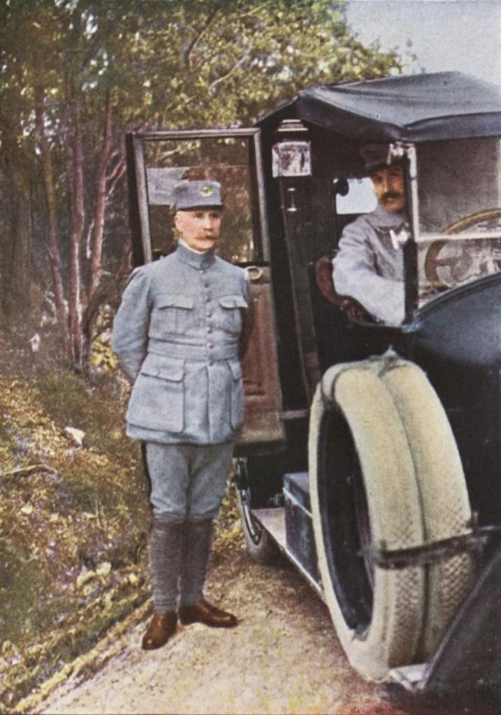 Gervais-Courtellemont: Pétain marskálkur