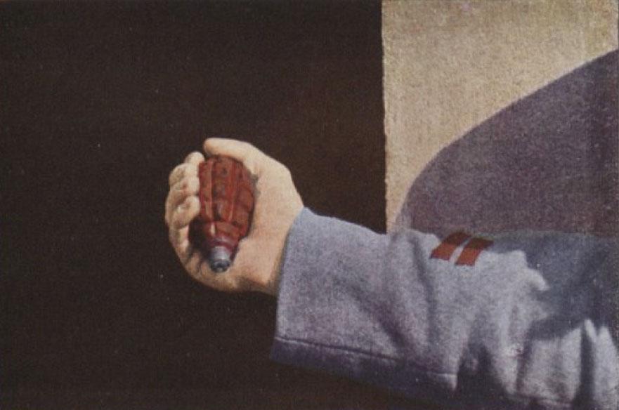 Gervais-Courtellemont: Örbrota-handsprengjan, nýtt vopn í fyrri heimsstyrjöld.