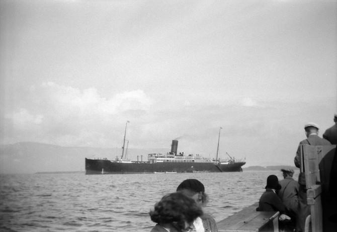 Skip í Reykjavík sumarið 1930