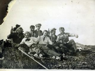 Eitursvalir Ísfirðingar á þriðja áratugnum