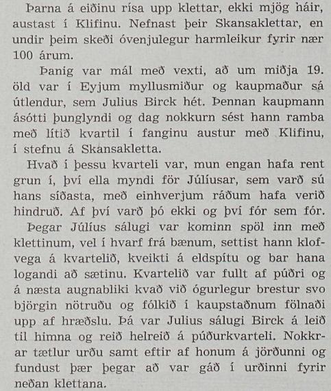 Sagan um danska kaupmanninn í Frjálsri verslun árið 1943.