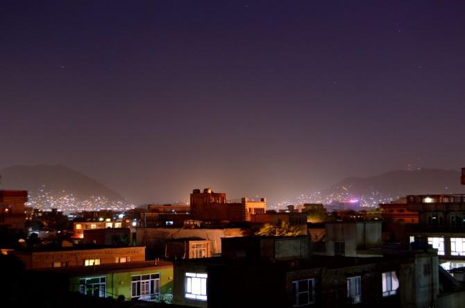 Kvöld í Kabúl, Afganistan