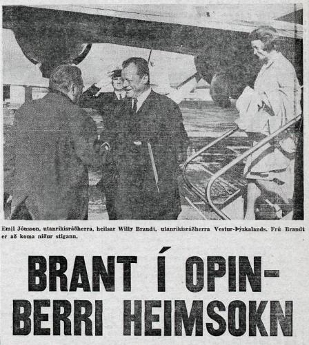 Úr Alþýðublaðinu 24. júní, 1967.
