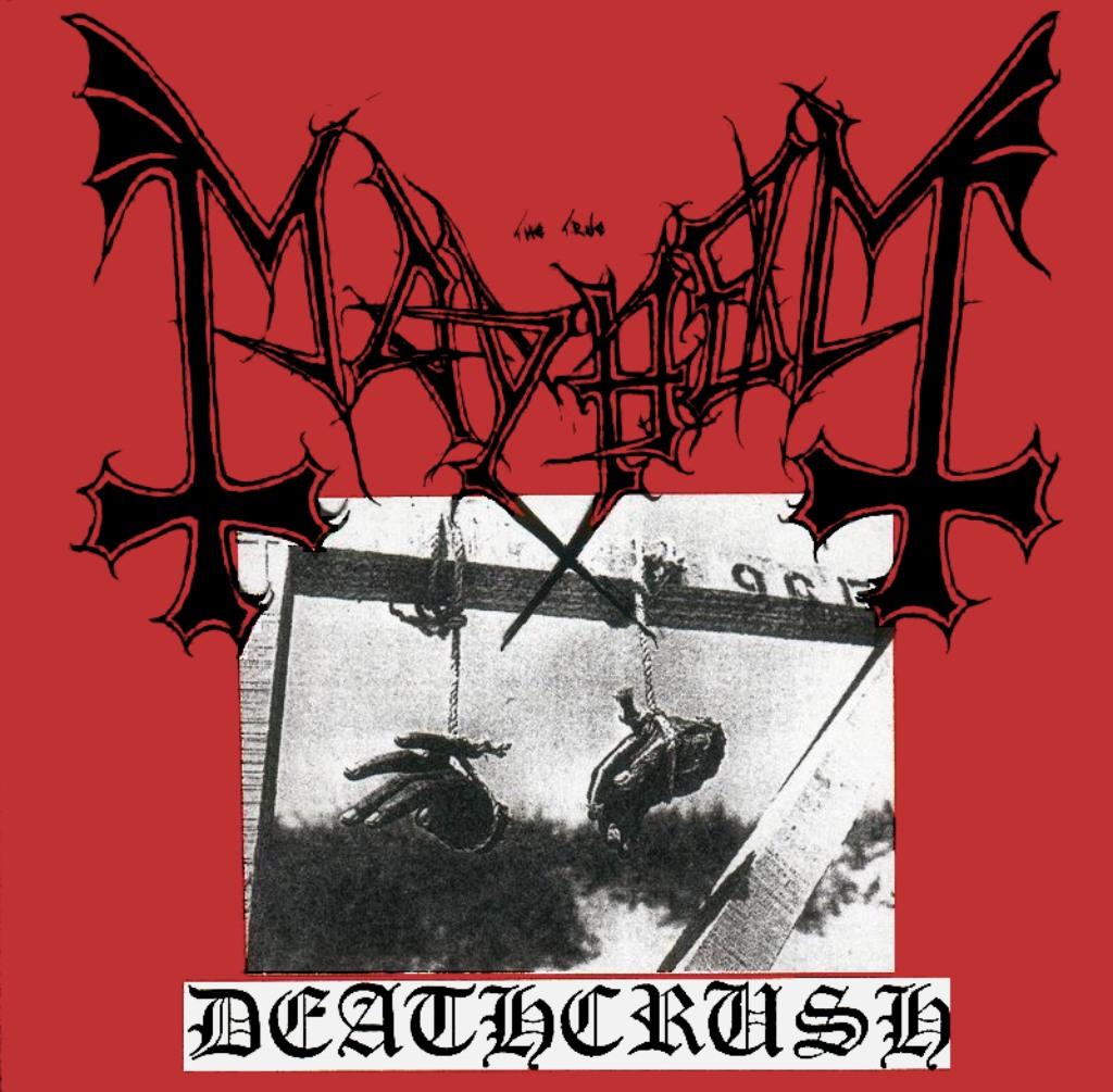 Platan Deathcrush frá 1987.