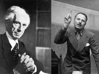 Bertrand Russell neitaði að rökræða við enska fasistann Sir Oswald Mosley