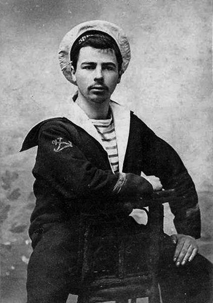 Franskur sjóliði árið 1910.