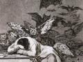 Francisco Goya: Svefn skynseminnar skapar skrímsli.