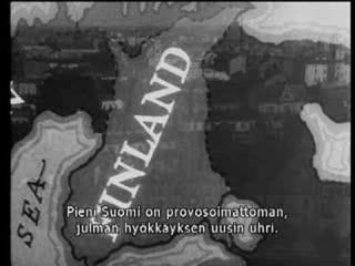 Bandarískir vinir Finnlands gerðu áróðursmynd um Vetrarstríðið 1939