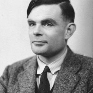 Turing árið 1951.