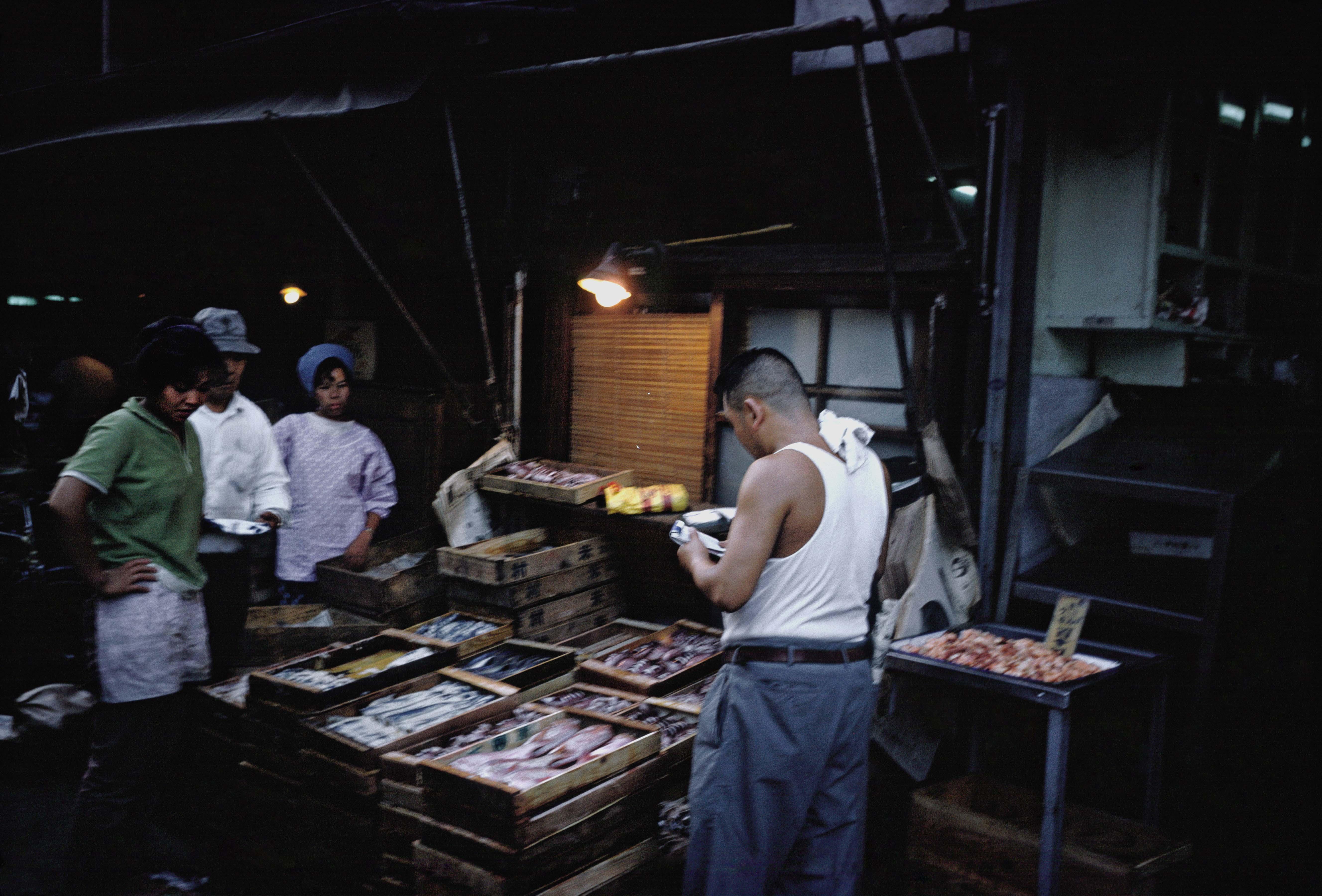 06-Tokyo, marché aux poissons, 1962  © Martin Karplus