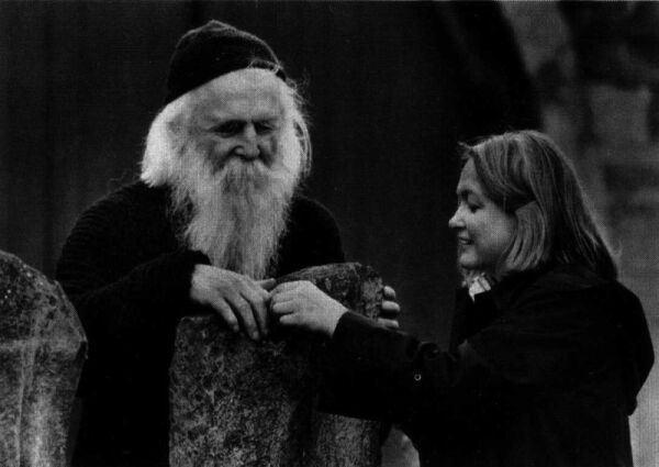 Moondog og Ilona Sommer.