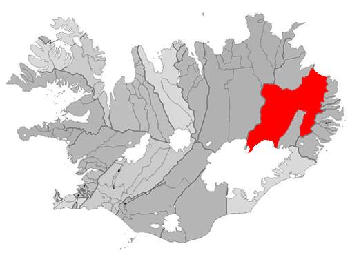 Fljótsdalshérað er stórt að flatarmáli. Svæði Henry Ford í Brasilíu var stærra.
