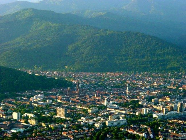 """Freiburg er ekki bara """"græn."""" Hún er líka mjög græn."""