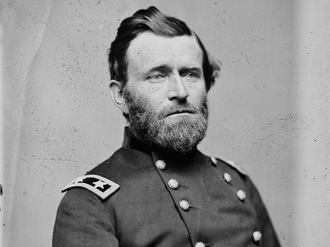 Ulysses S. Grant Bandaríkjaforseti 1869-1877.