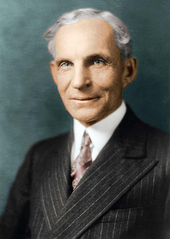 Henry Ford (1863-1947) var einn áhrifamesti maður tuttugustu aldar.