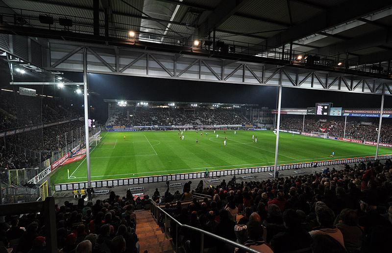 Mage Solar Stadion, áður Dreisamstadion.