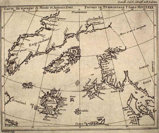 Hið dularfulla Frísland: Var stór eyja við hlið Íslands?