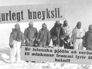 9. þáttur: Misheppnaður björgunarleiðangur og tilkall Íslands til Grænlands