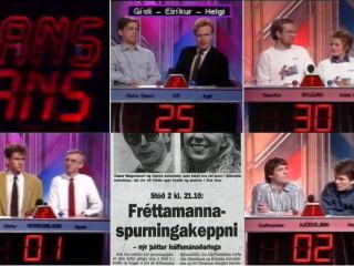 Ans ans: Skemmtilegur spurningaþáttur fjölmiðlamanna árið 1987