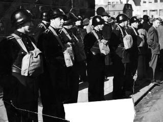 Ljósmyndir lögreglunnar frá NATO-mótmælunum í mars 1949
