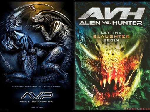 movie-rip-offs-alien-vs-preditor-and-alien-vs-hunter