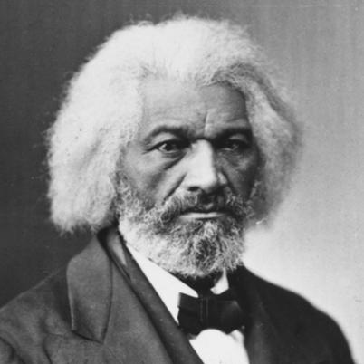 Draugur Frederick Douglass birtist í afró-auglýsingu