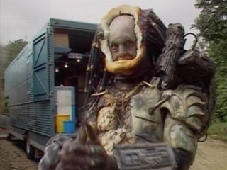 Leikarinn sem lék hinn vonda Predator var góður gaur