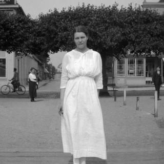 Berit á ferðalagi í Þýskalandi árið 1921.