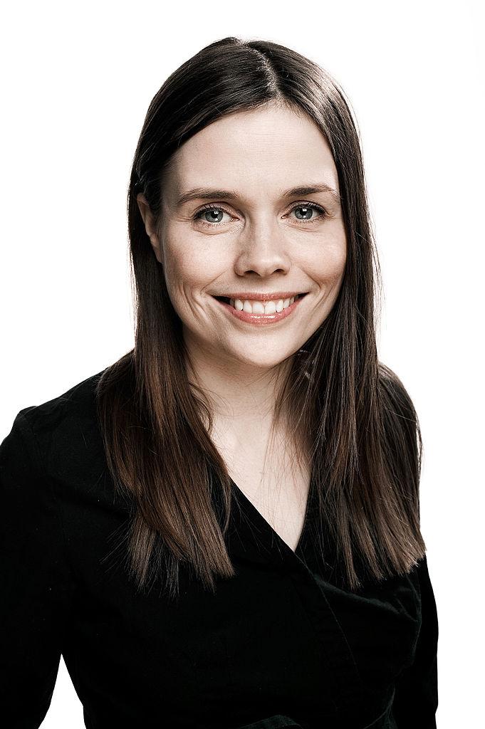 Katrín Jakobsdóttir. Wikimedia Commons.