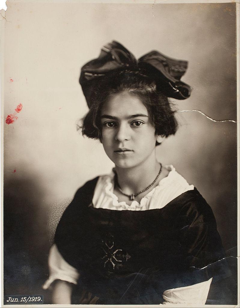 Frida árið 1919.