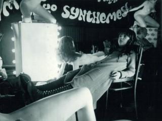 Vivian Kubrick á settinu í kvikmyndum föður síns