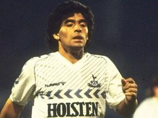 Þegar Diego Maradona lék fyrir Tottenham