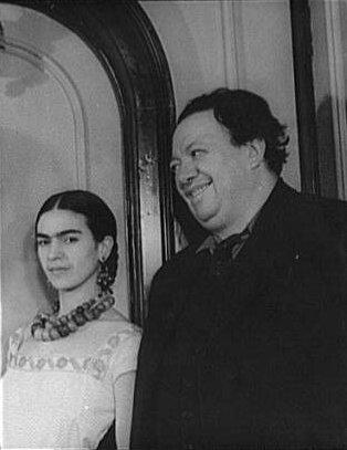 Frida og Diego árið 1932.