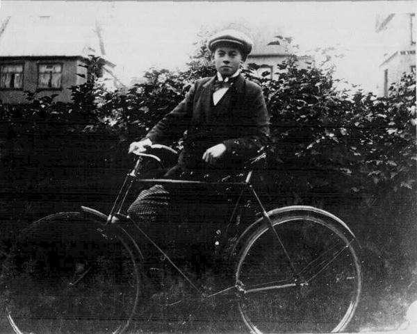 Karli Ch. Nielsen 1910-20.  (Ljósmyndasafn Reykjavíkur)