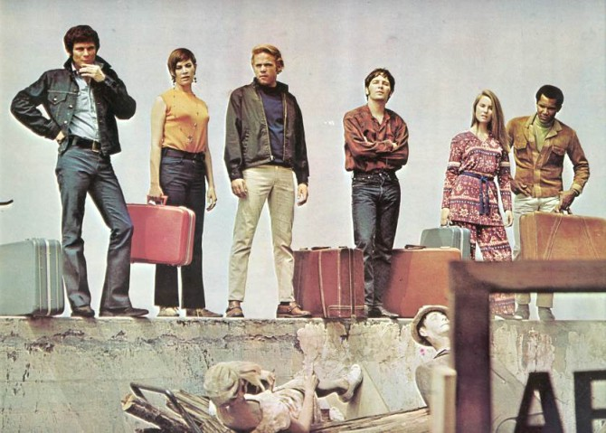 """Var Lost endurvinnsla á þáttunum """"The New People"""" frá 1969?"""