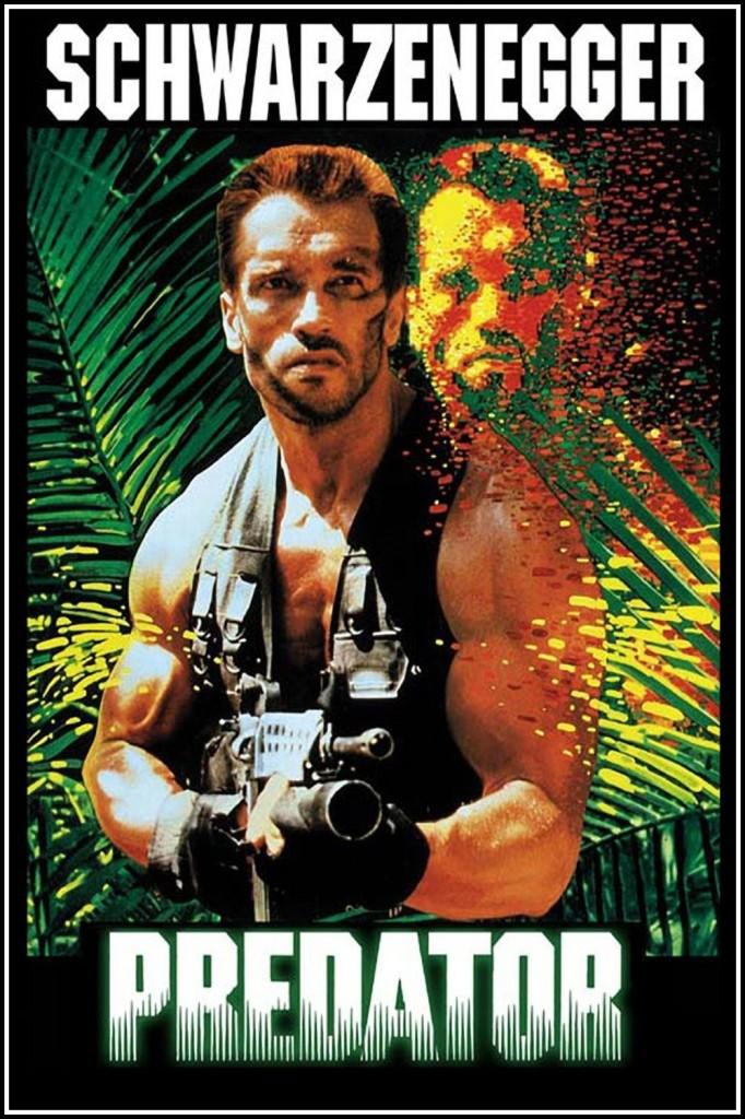 Plakatið fyrir Predator (1987).
