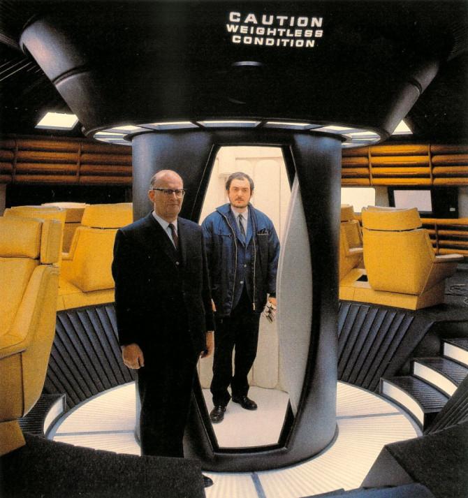 Kynngimagnaðar ljósmyndir baktjaldamegin í 2001: A Space Odyssey