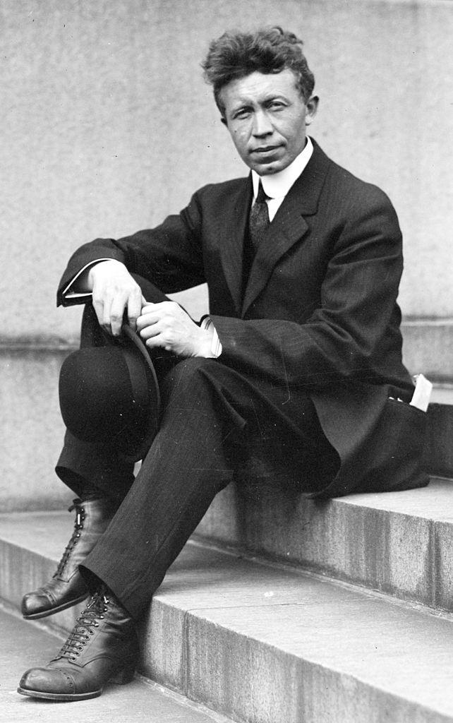 Vilhjálmur Stefánsson um 1915.