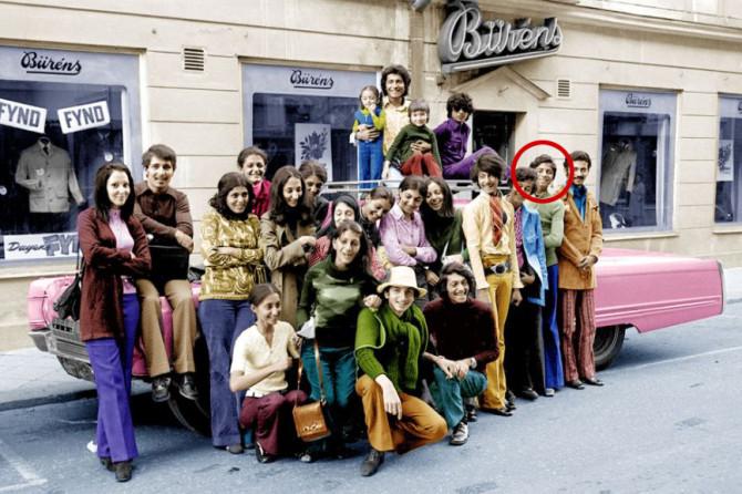 Osama bin Laden í Svíþjóð árið 1971