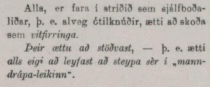 Þjóðviljinn, 4. desember 1915.