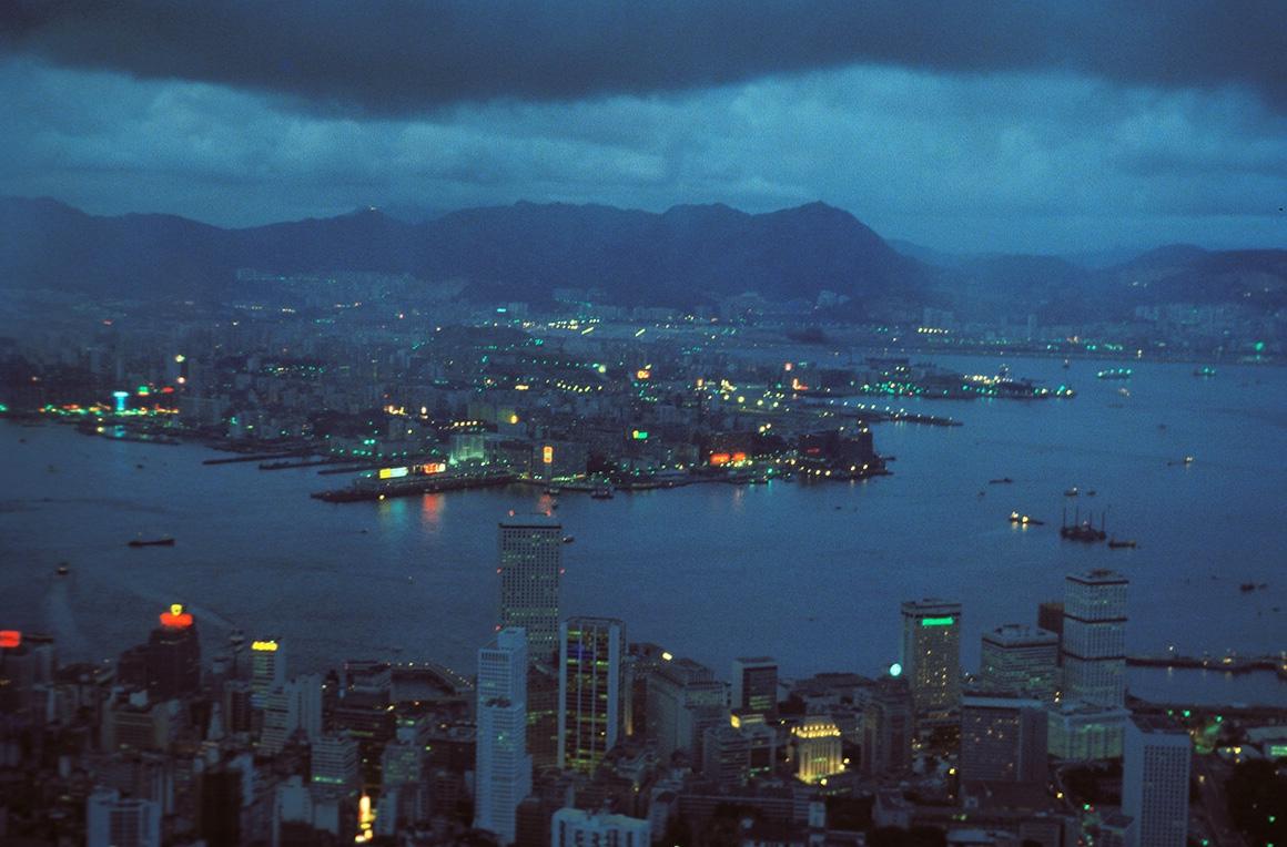 Hong Kong árið 1978.