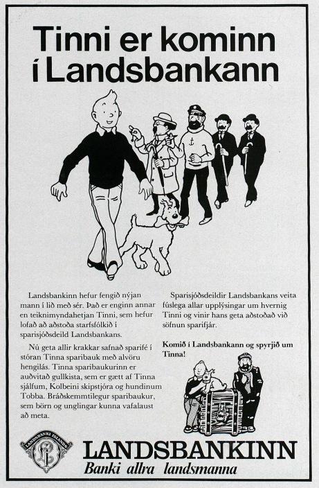 Auglýsing frá 1977.