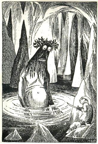 Tove Jansson myndskreytti Hobbitann